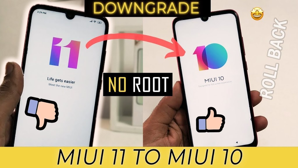 Photo of MIUI 11 TO MIUI 10 DOWNGRADE | Redmi Note 7 Pro | NO root | Officail methoed Flashing | easy step