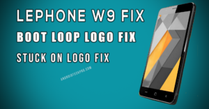 lephone w9 flash file