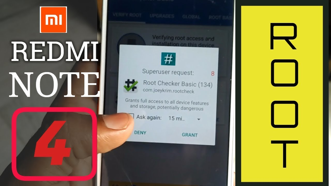 Redmi Note 4 root 100% with very easy steps with Miui 11