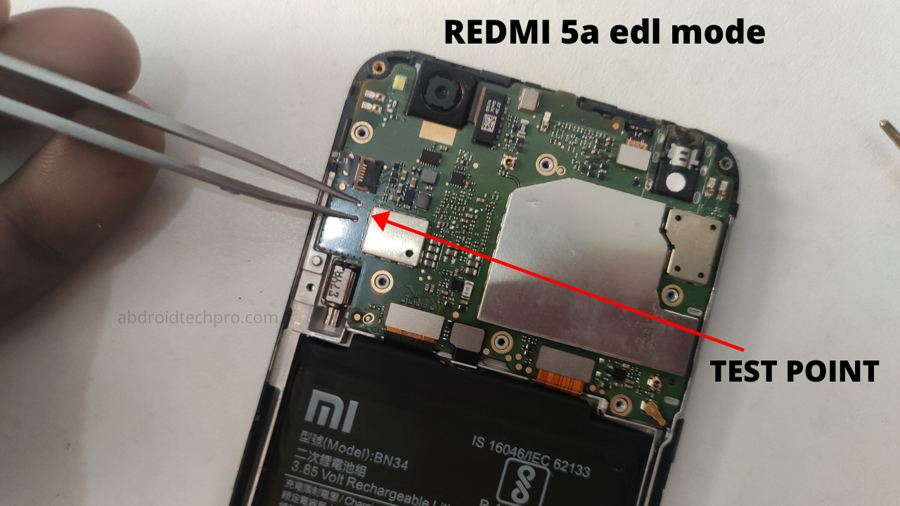 REDMI 5a edl mode 2