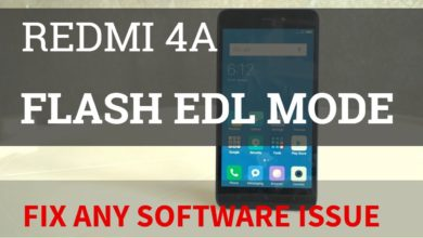 Photo of Redmi 4a flash with EDl mode solution | flash 100% locked bootloader | Officail rom |