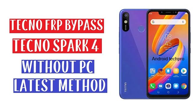 bypass frp lock in tecno spark 4
