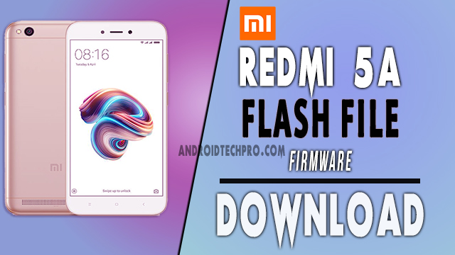 redmi 5a flash file download