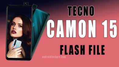 Photo of tecno camon 15 pro flash file