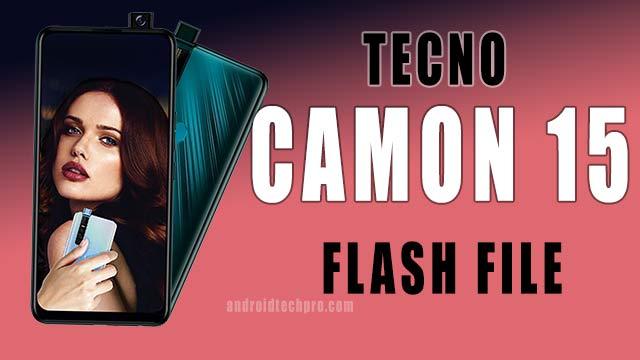 tecno camon 15 pro flash file