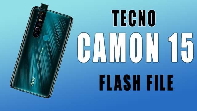 tecno camon 15 pro flash filed download