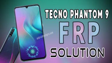 Photo of TECNO PHANTOM 9 frp bypass without pc unlock