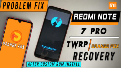 Photo of Redmi Note 7 pro Twrp and Orange Fox Recovery [ Deleted ] After Custom Rom Install [ Problem Fix ] 100%