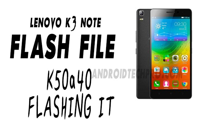 lenovo k3 note stock firmware