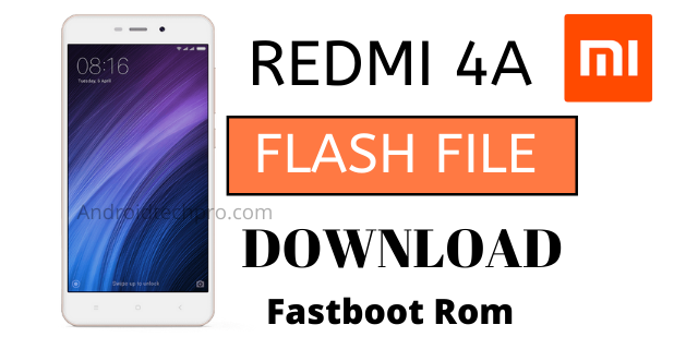 redmi 4a flash file tested