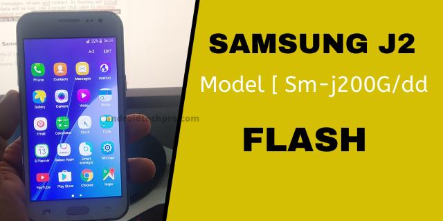 Samsung J2 flasing methed