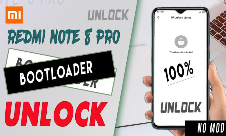 bootloader unlock redmi note 8 Pro 100%
