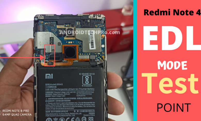 redmi note 4 edl point image