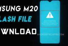 Photo of Samsung Galaxy M20 Flash File download [ India ] Latest Android 10 Google Drive link