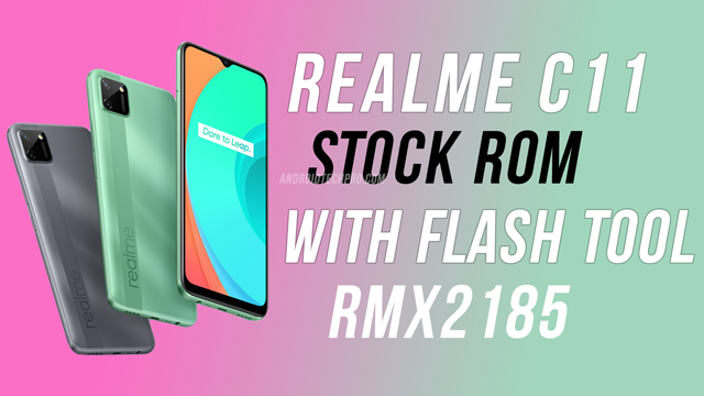 realme rmx2185 flash file