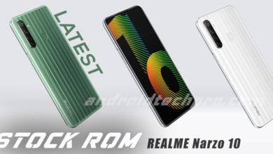 Realme Narzo flash file