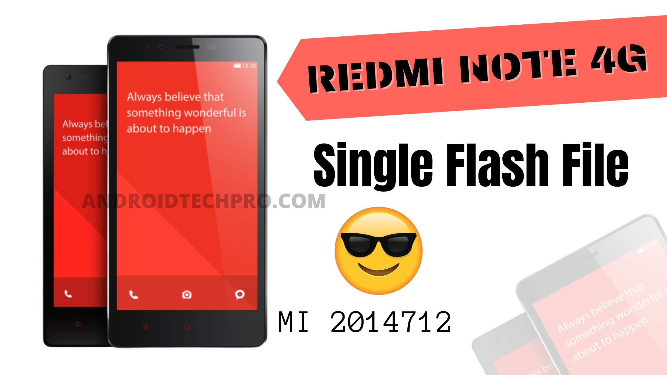 mi 2014712 single sim flash file
