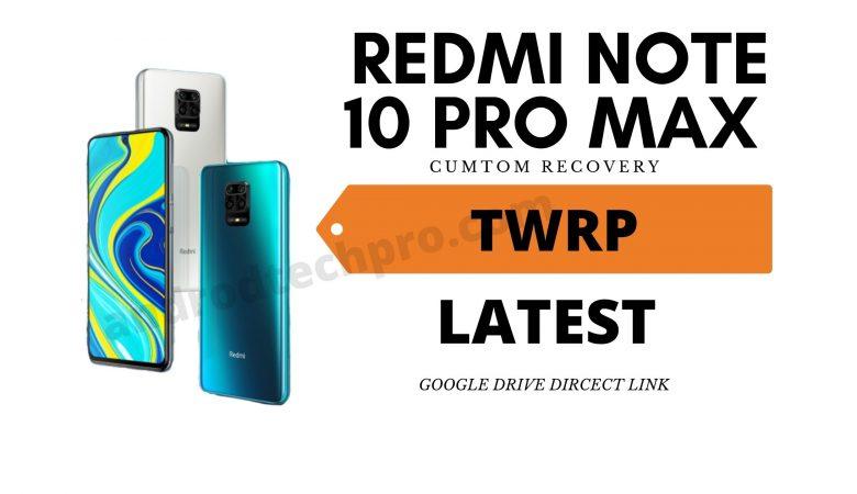 redmi note 10 pro max twrp