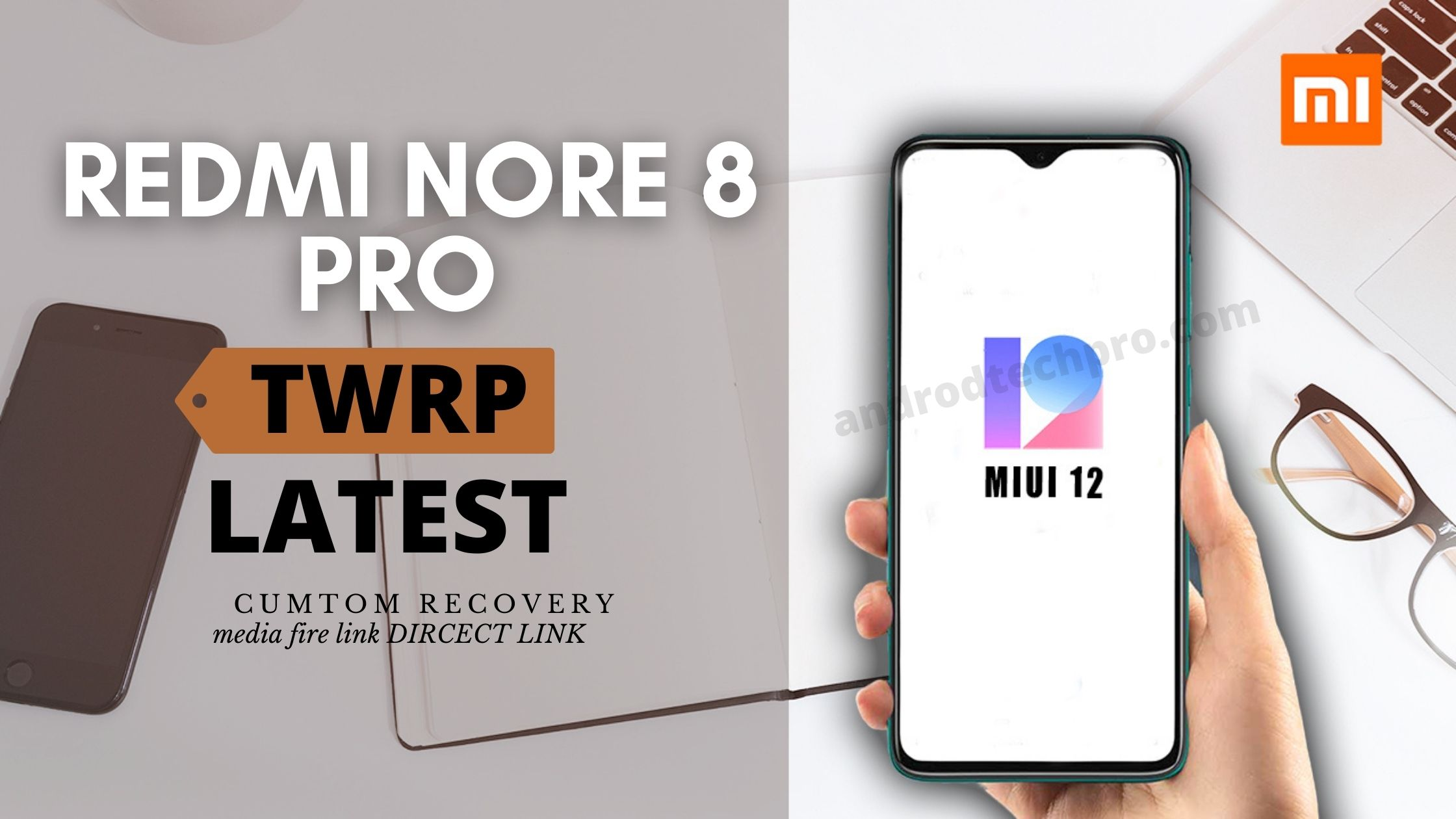 root redmi note 8 pro twrp